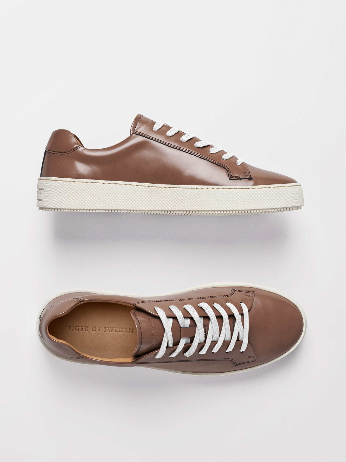 Salas P Sneakers in Dark Sand from Tiger of Sweden