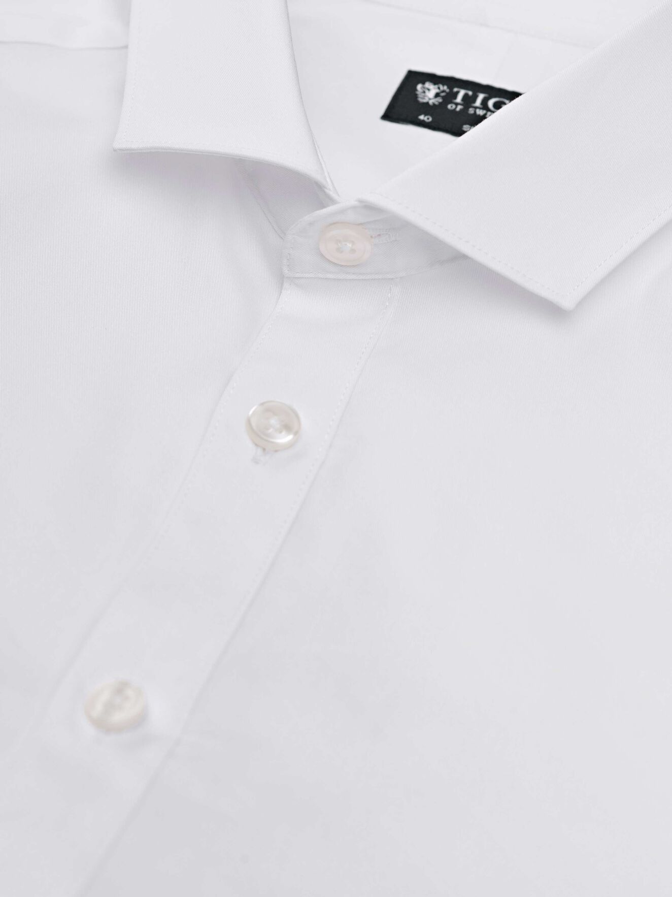 Steel 1 Shirt in Pure white from Tiger of Sweden