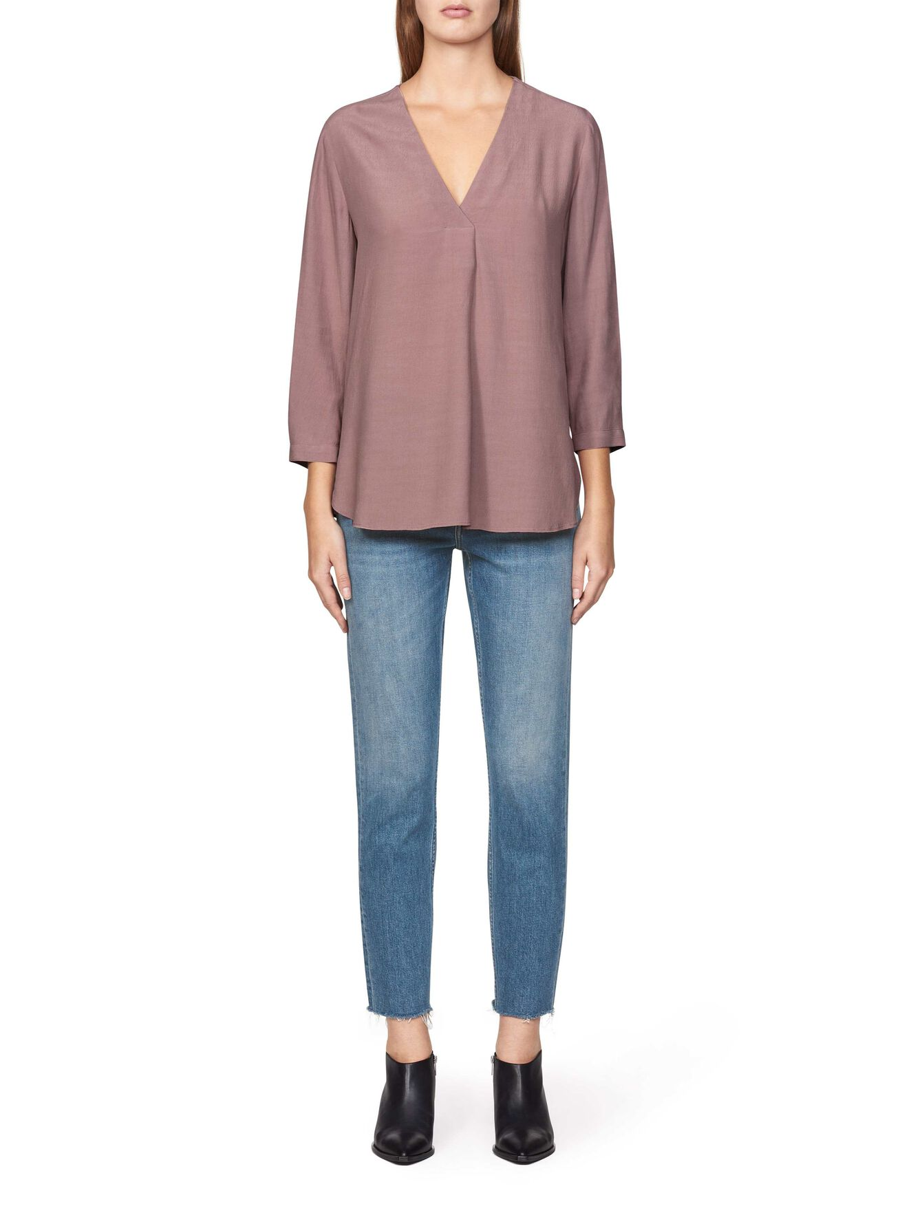 Mere 2 Shirt in Mellow Mulberry from Tiger of Sweden