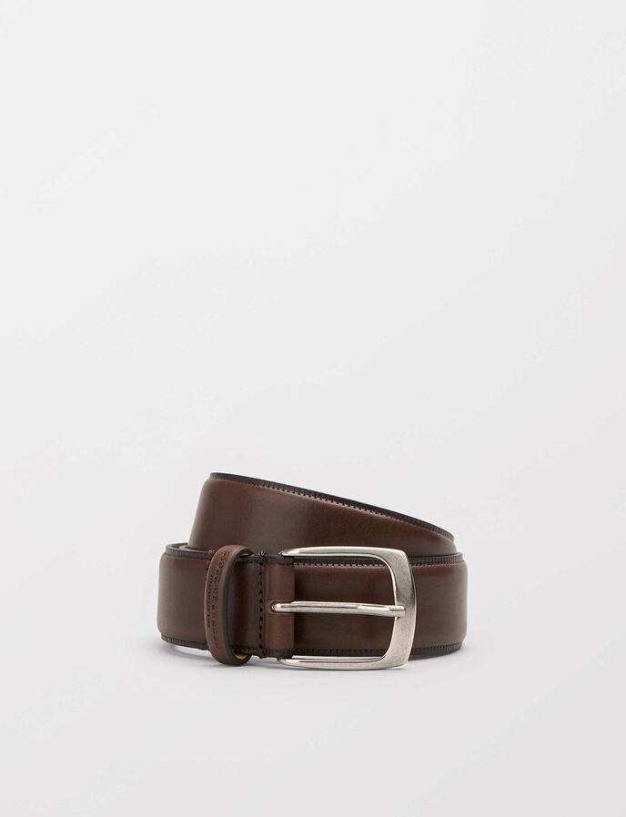Blommer belt in Dark Brown from Tiger of Sweden