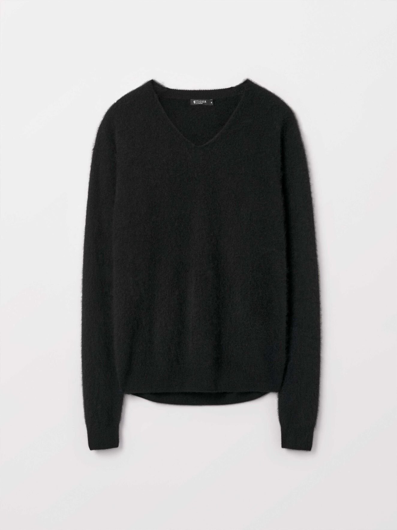 Novelli Pullover in Black from Tiger of Sweden