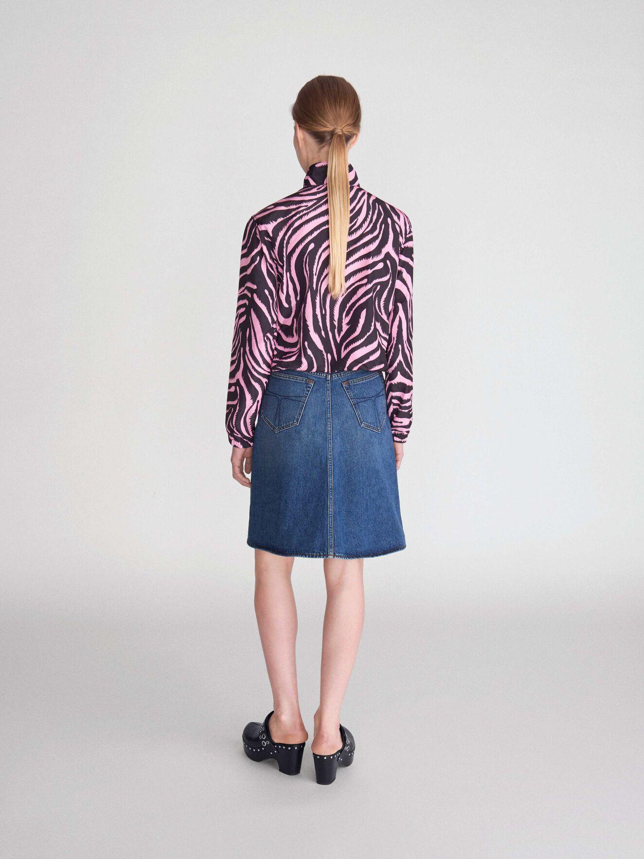 Liz Skirt in Medium Blue from Tiger of Sweden