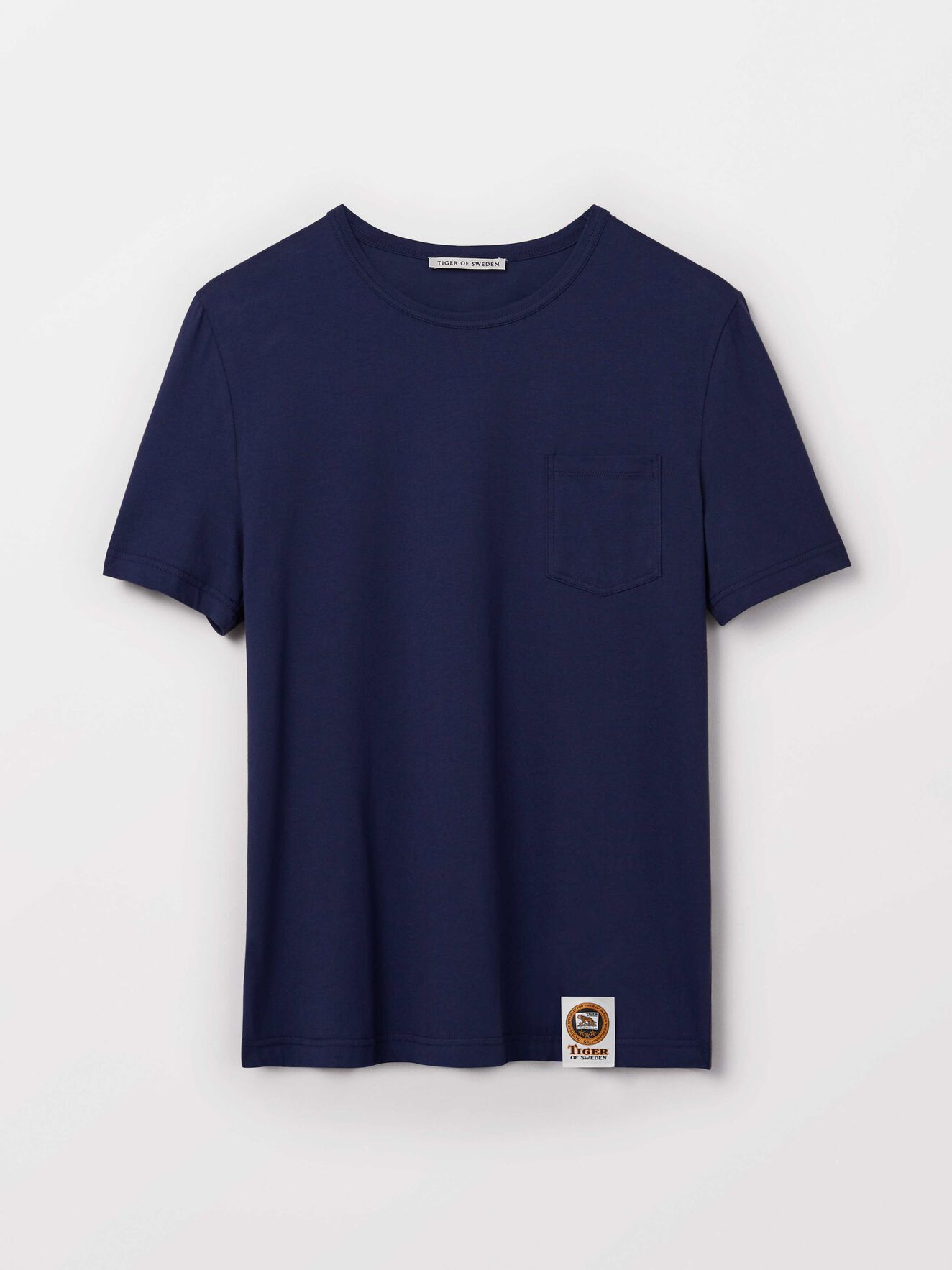 Didelot T-Shirt in Sky Captain from Tiger of Sweden