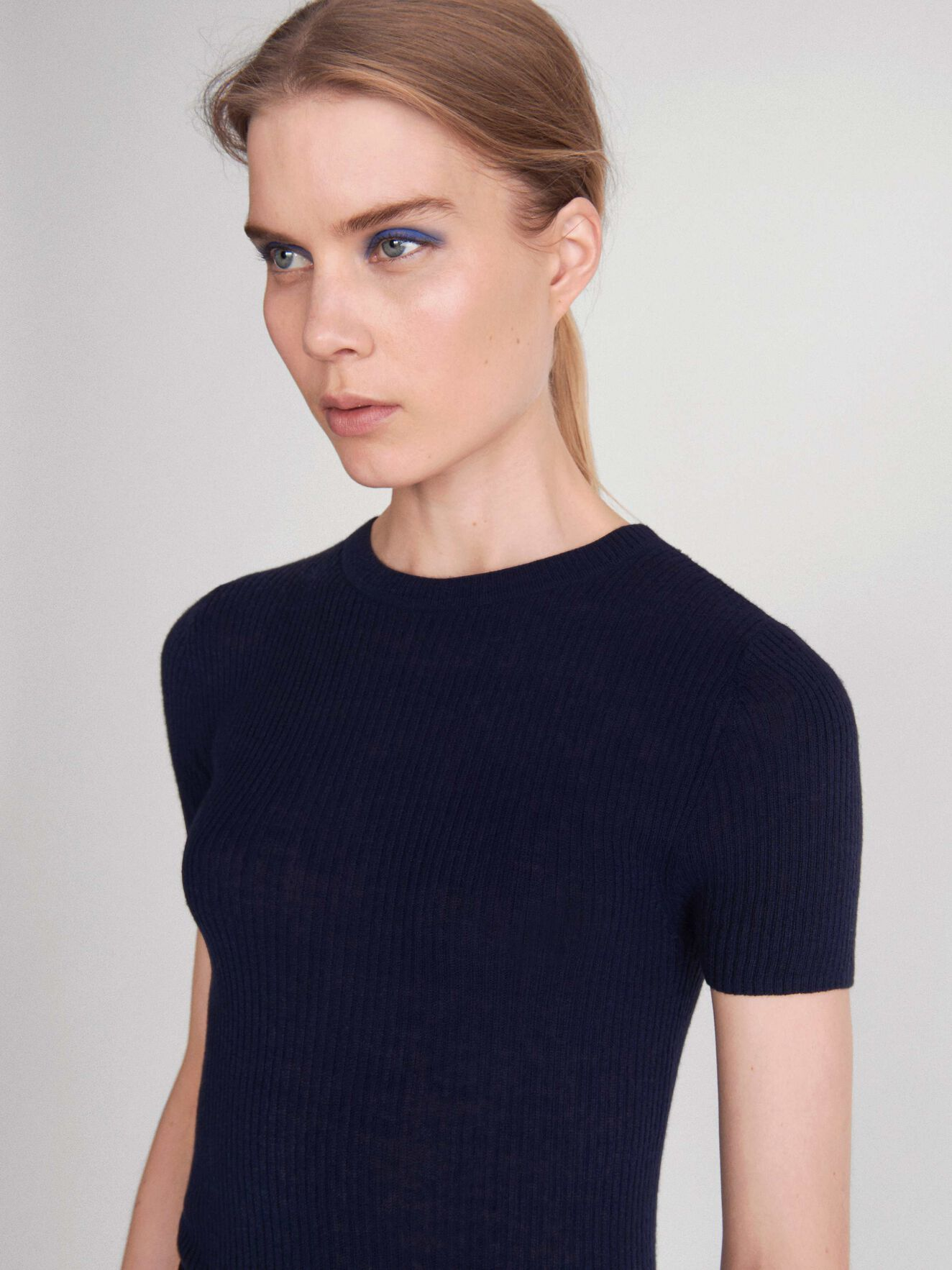 Orvi T-Shirt in Blue from Tiger of Sweden