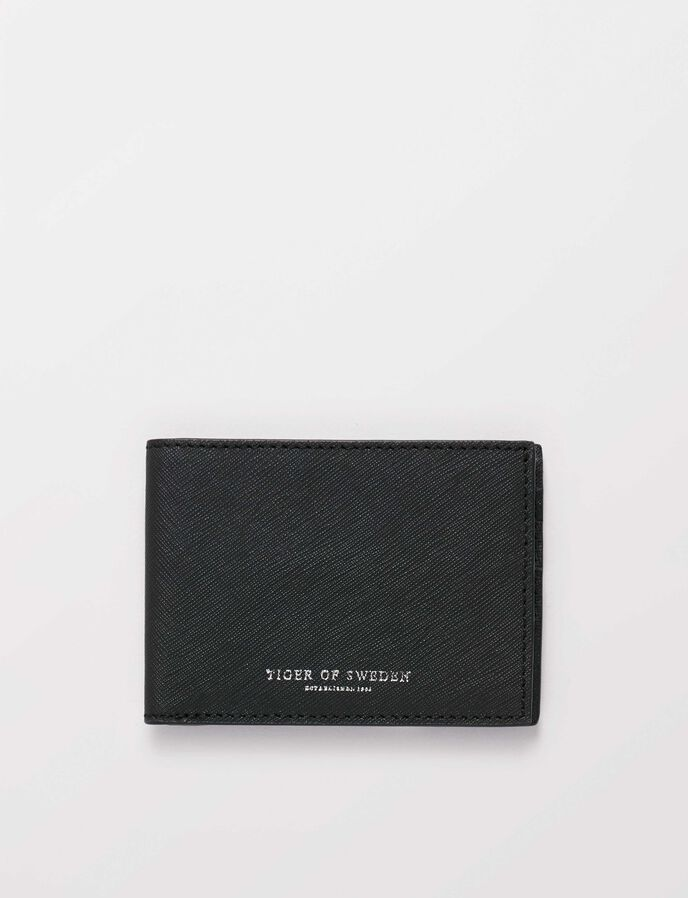Agata 2 Wallet in Black from Tiger of Sweden