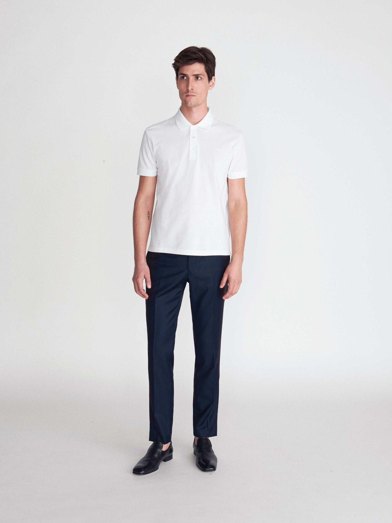 Darios Shirt in Pure white from Tiger of Sweden