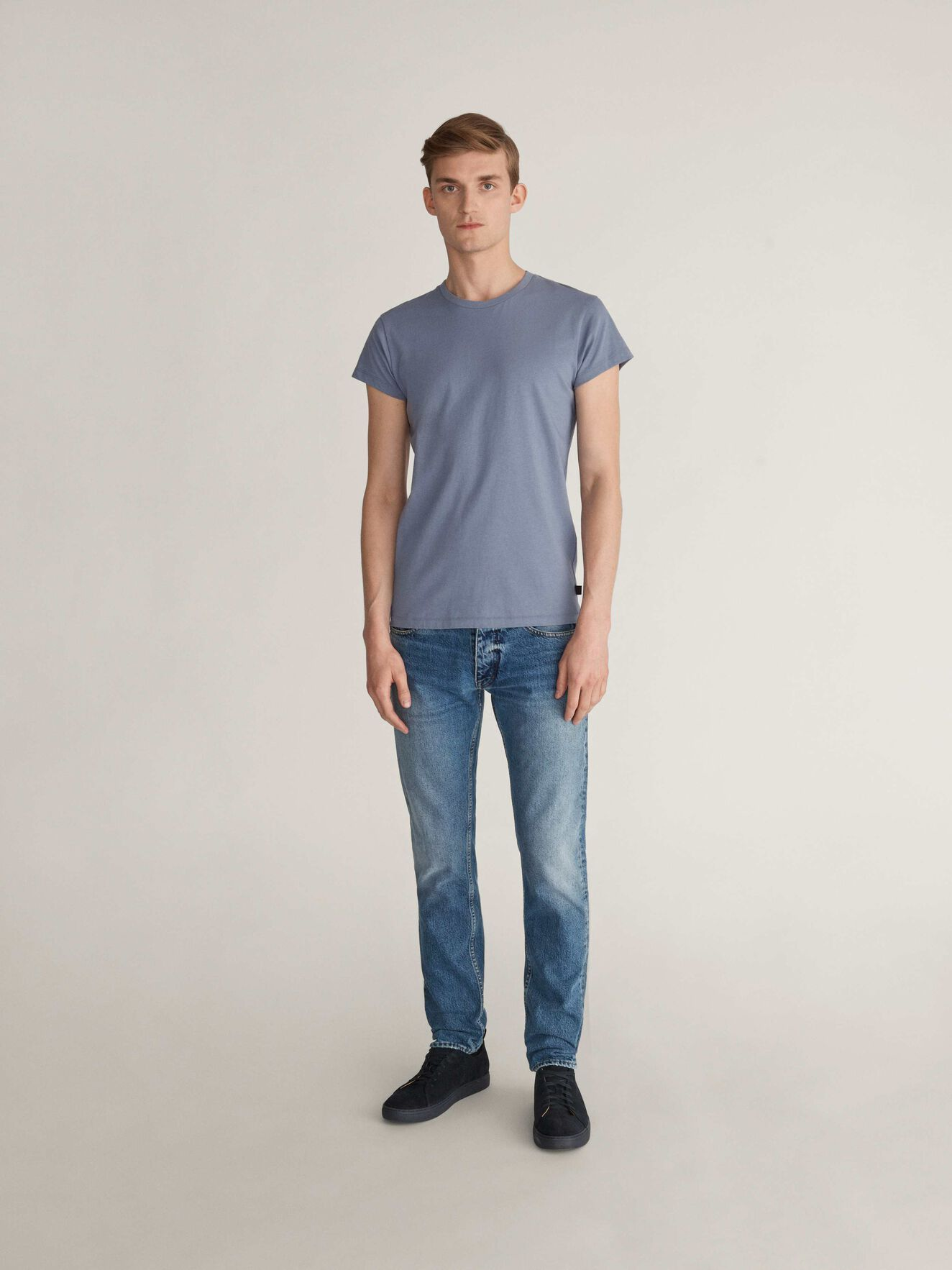 West T-Shirt in Blue Dawn from Tiger of Sweden
