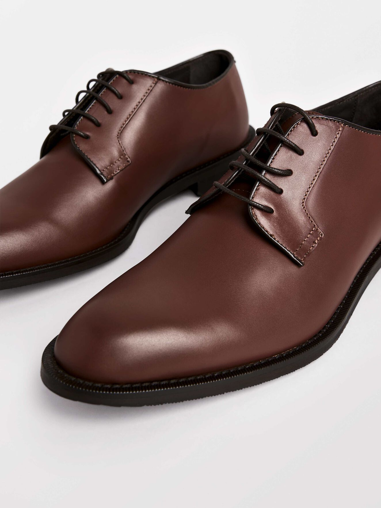 Agaton Shoe in Cognac from Tiger of Sweden