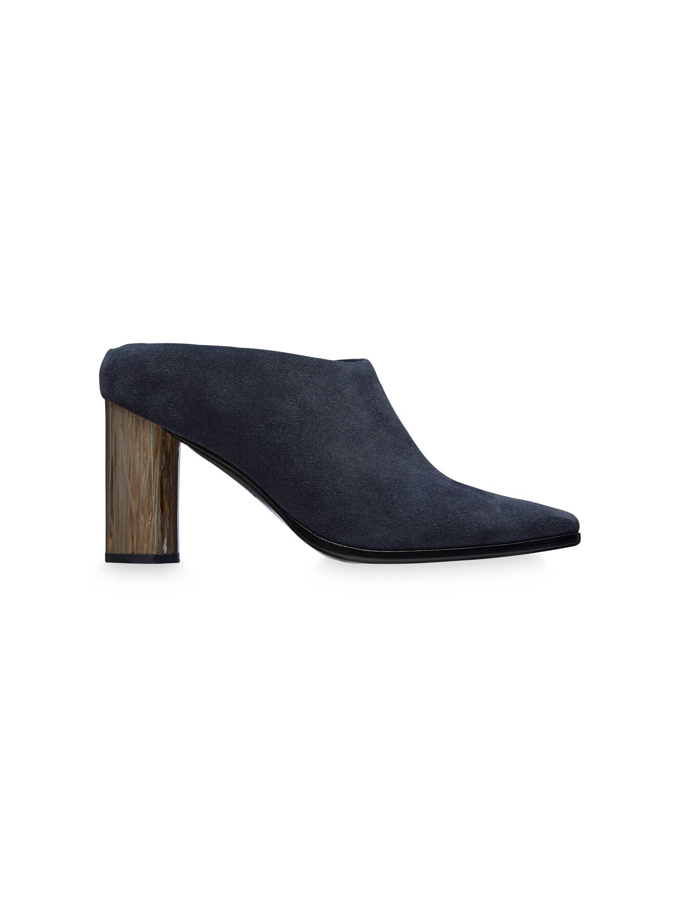 Colyton S Mule in Deep blue from Tiger of Sweden
