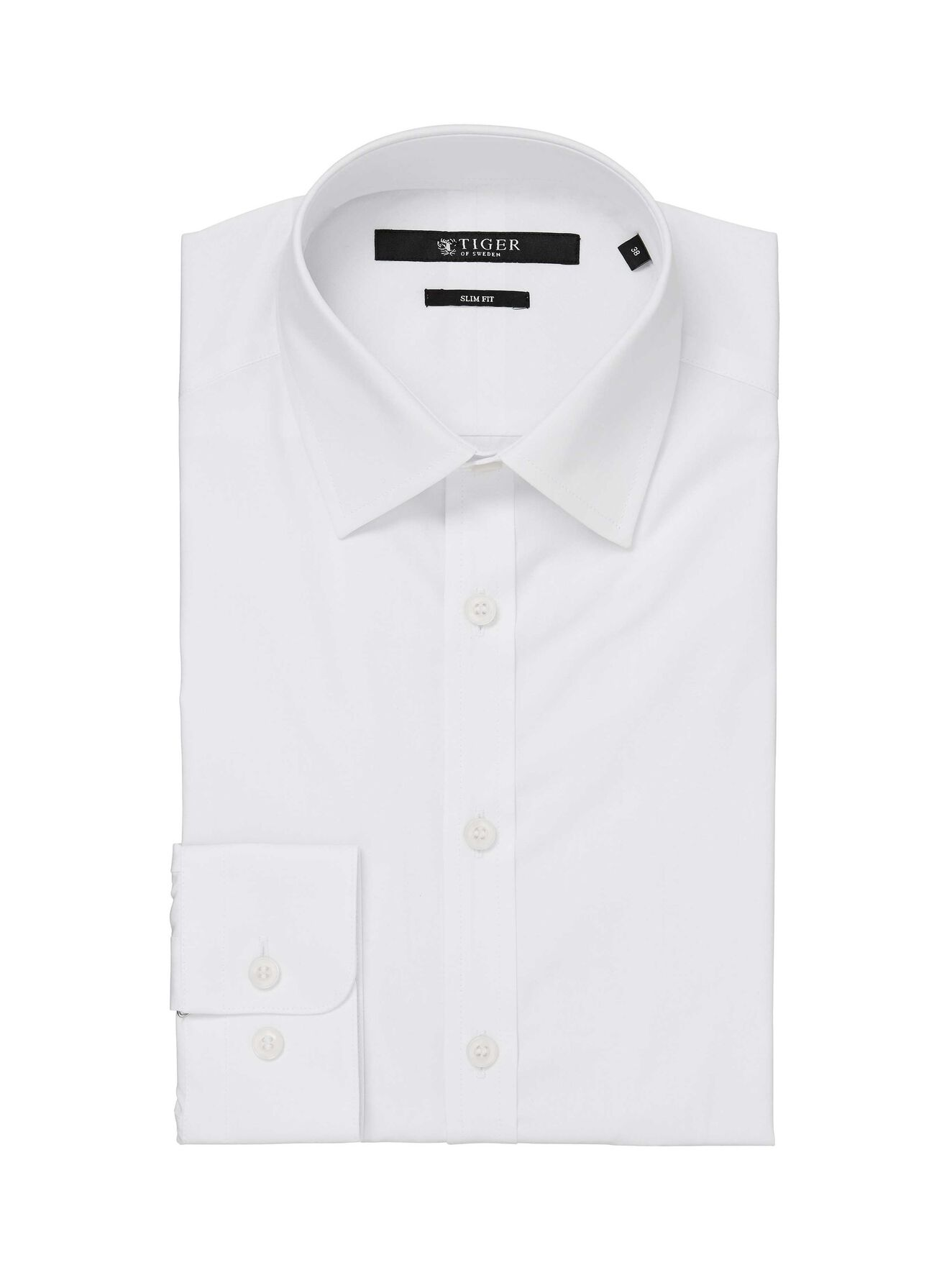 176bc3bb ... Steel shirt in Pure white from Tiger of Sweden