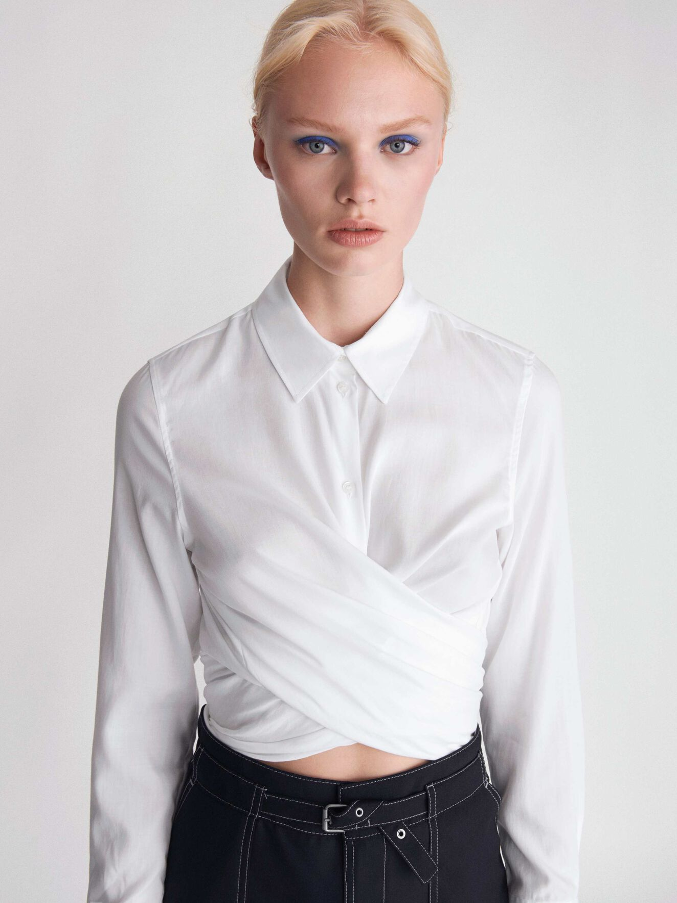 Noka Shirt in Pure white from Tiger of Sweden