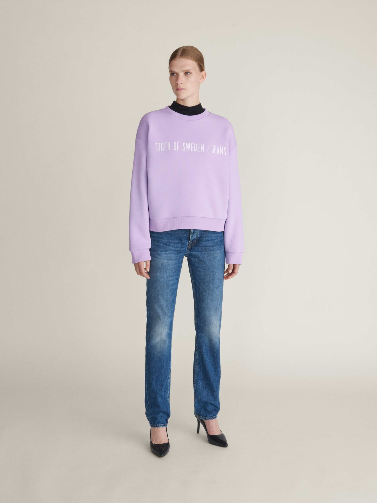 Big Marz Sweatshirt in Lilac Breeze from Tiger of Sweden