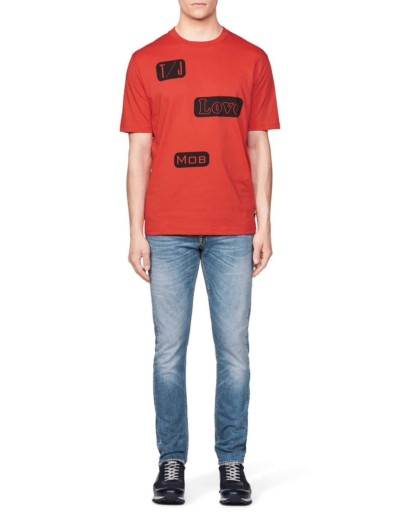 Stipe Pr T-Shirt in Valiant Poppy from Tiger of Sweden