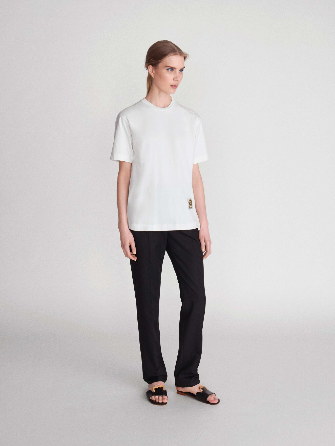 Dellana T-Shirt in Star White from Tiger of Sweden