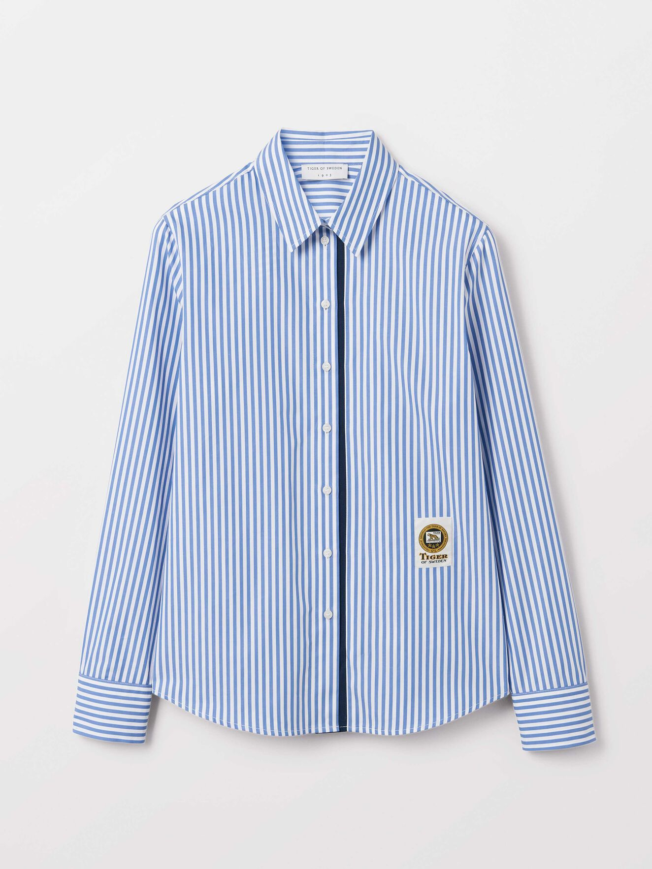 Ris Shirt in Blue from Tiger of Sweden