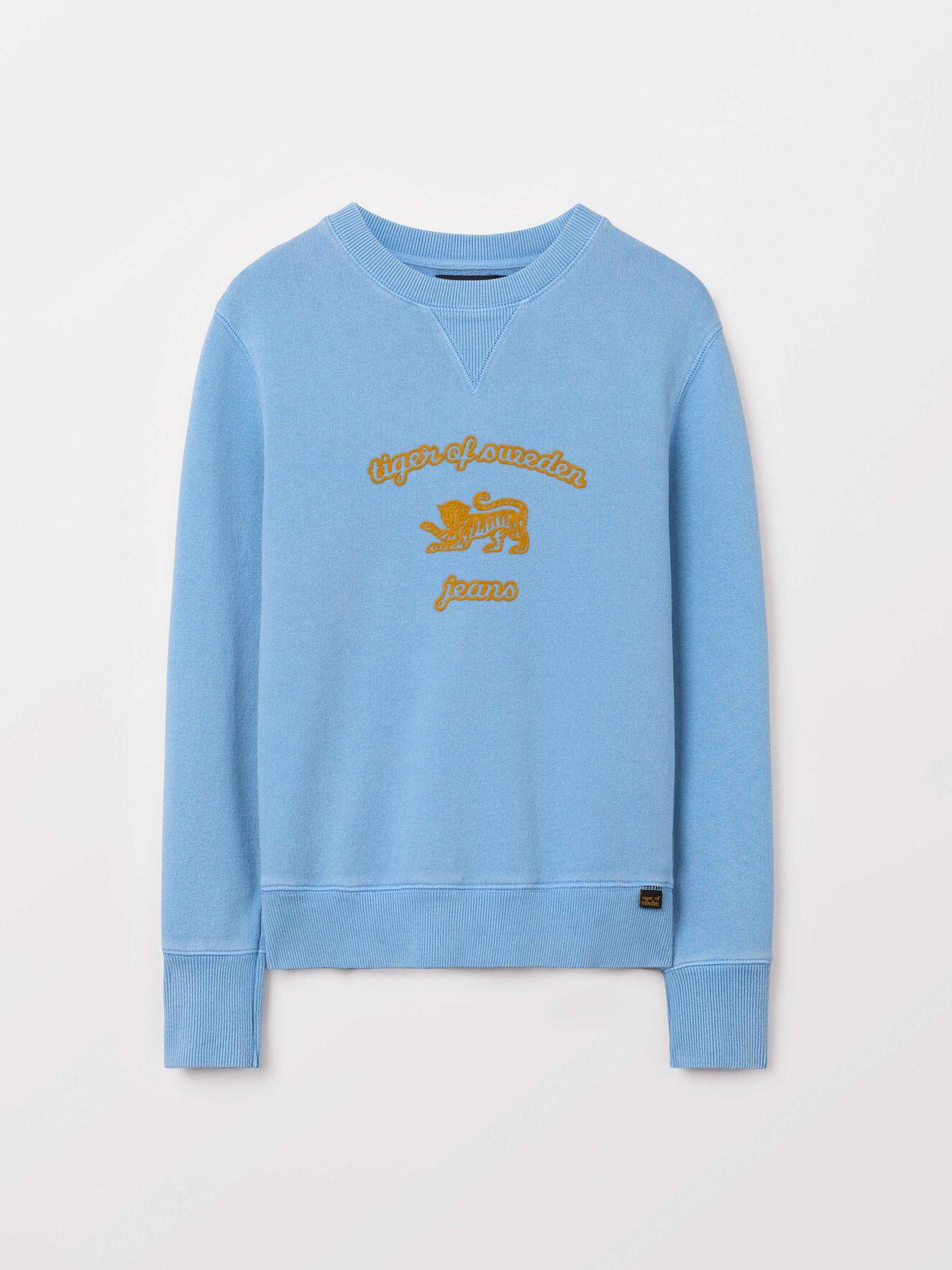 Obscura Pr Sweatshirt in True Sailor from Tiger of Sweden