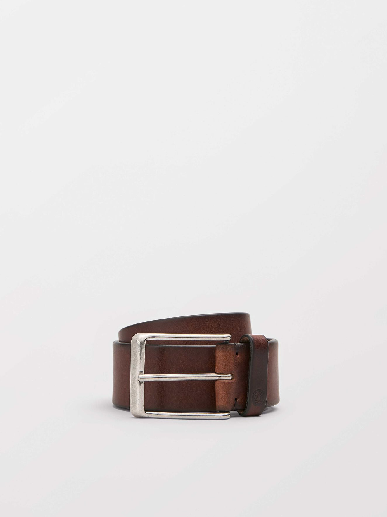 Hedman belt in Medium Brown from Tiger of Sweden