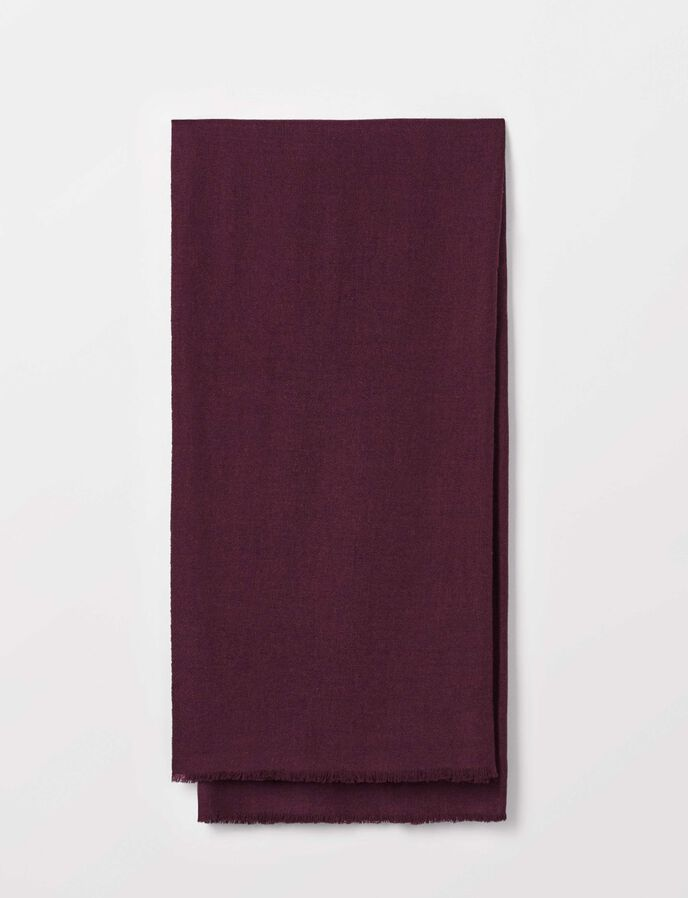 Dermisa Scarf in Burgundy from Tiger of Sweden