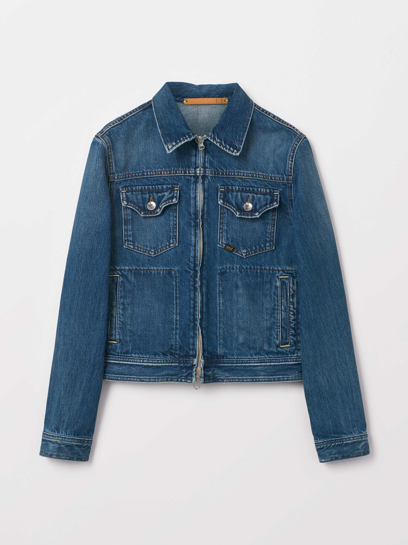 Peel Jacket in Dust blue from Tiger of Sweden