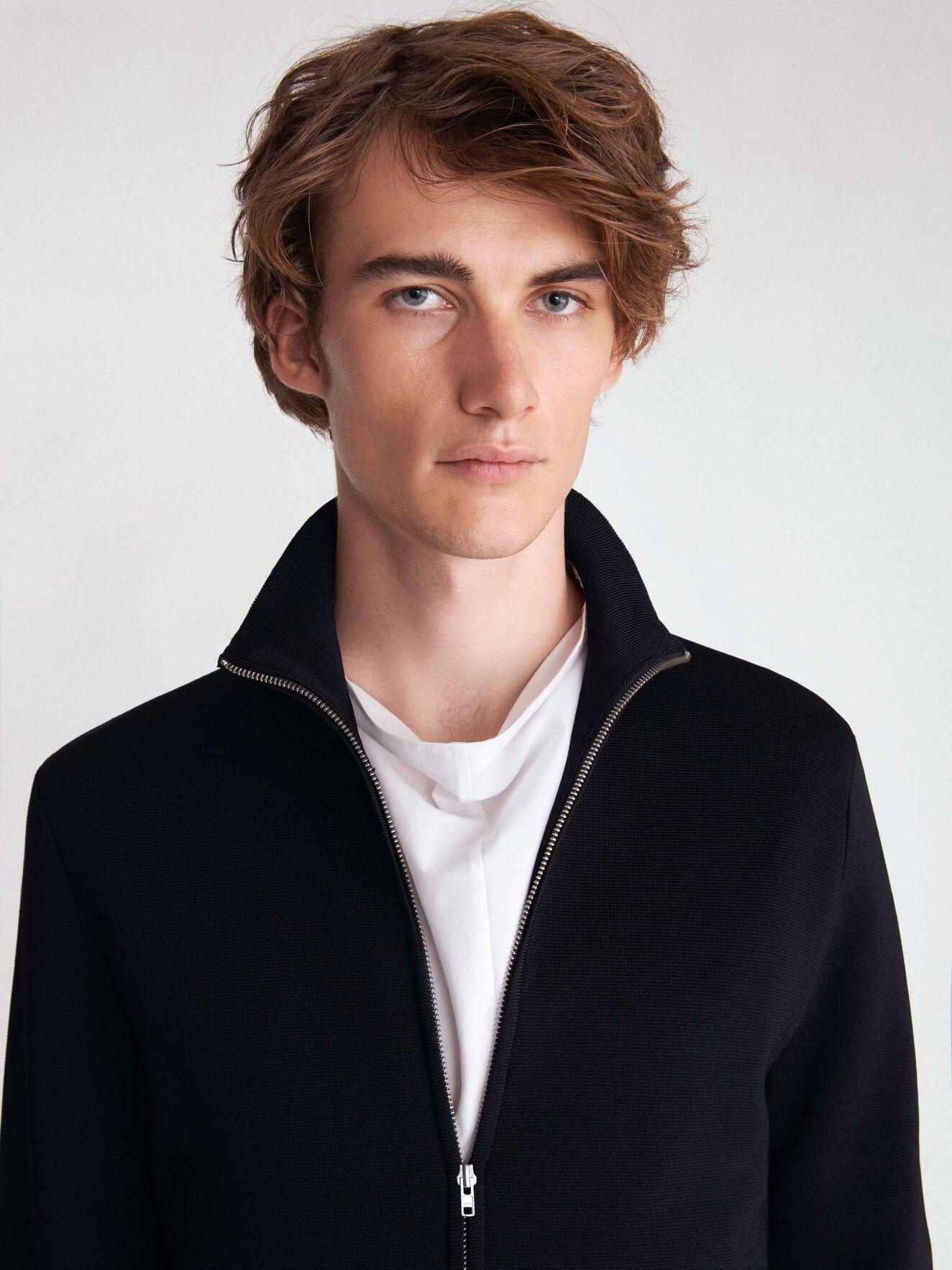 Norwyn Cardigan in Black from Tiger of Sweden