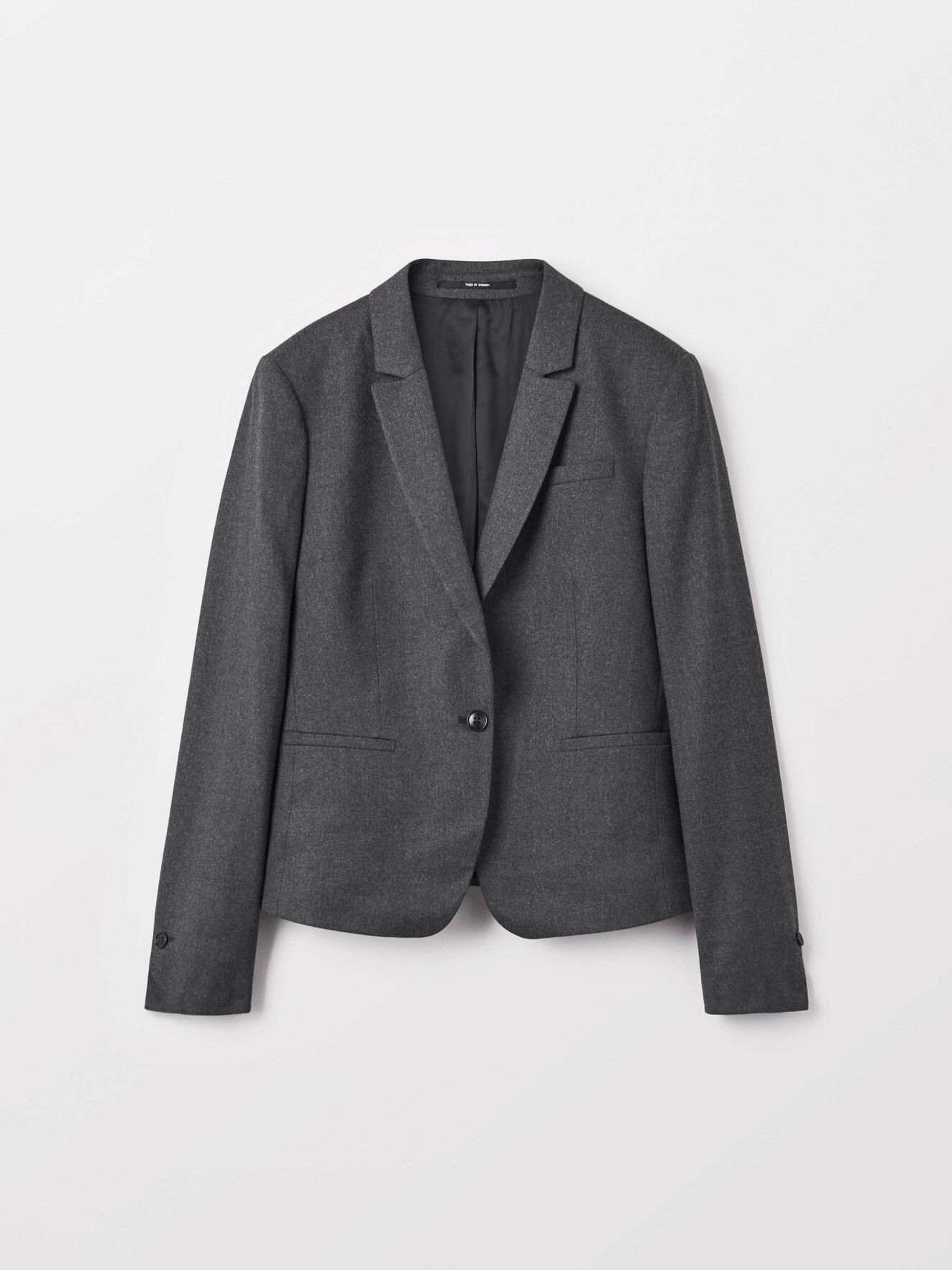 Kana 2 Blazer in Med Grey Mel from Tiger of Sweden