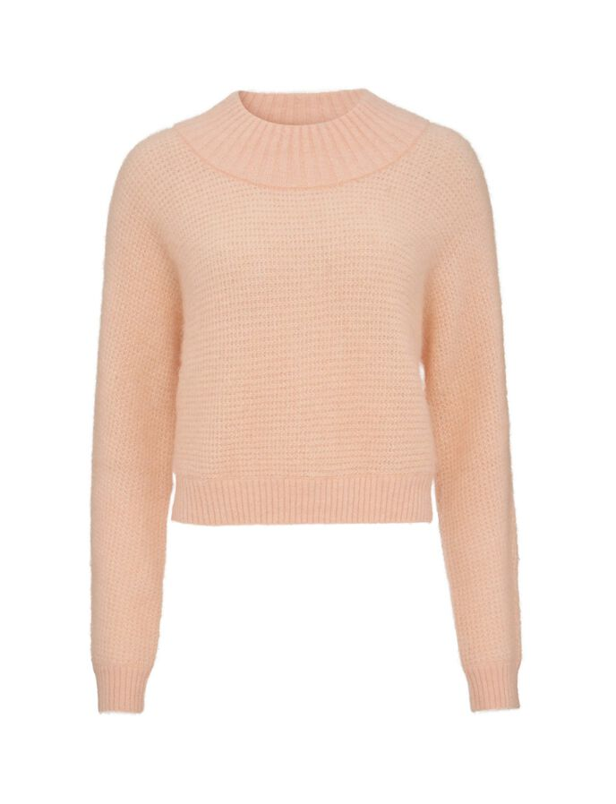 Gera Pullover in Peach Power from Tiger of Sweden