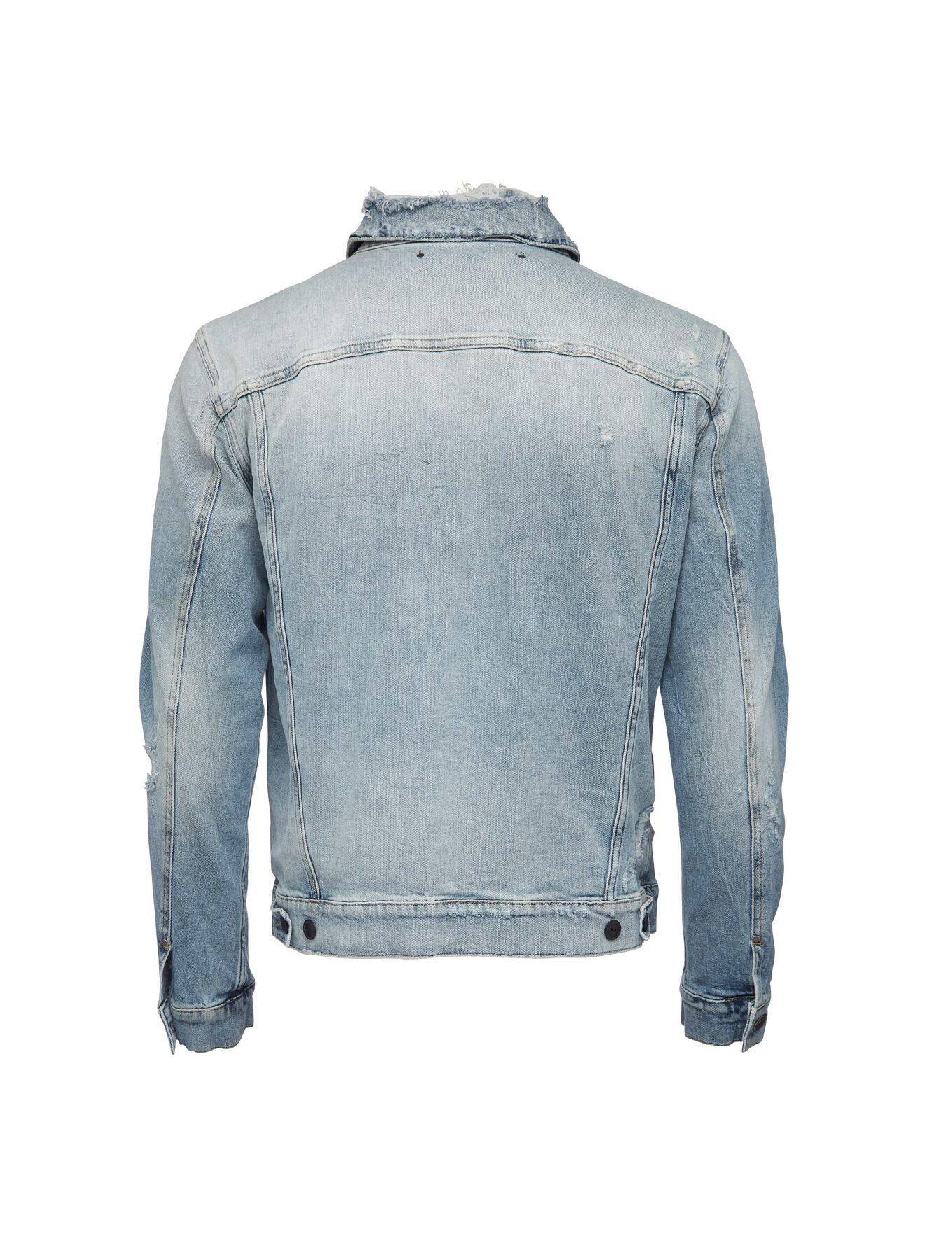 058939b1 ... Primal denim jacket in Pale Jeans Blue from Tiger of Sweden ...