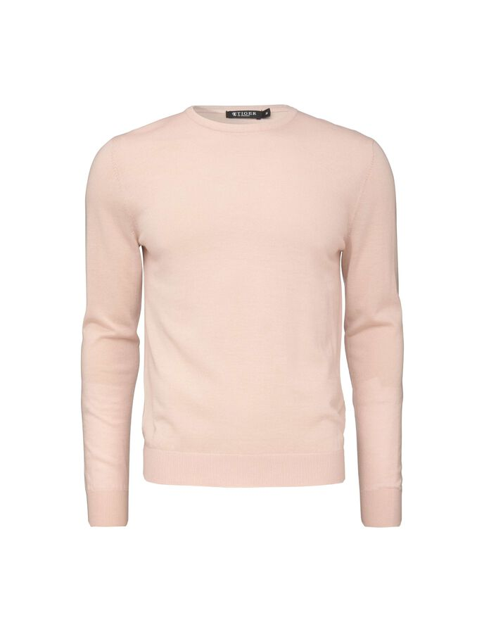 MATIAS PULLOVER in Chintz Rose from Tiger of Sweden