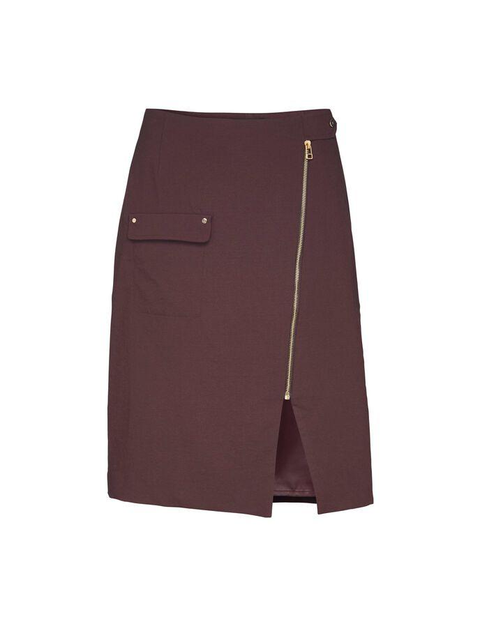 Randi skirt in Deep Aubergine from Tiger of Sweden