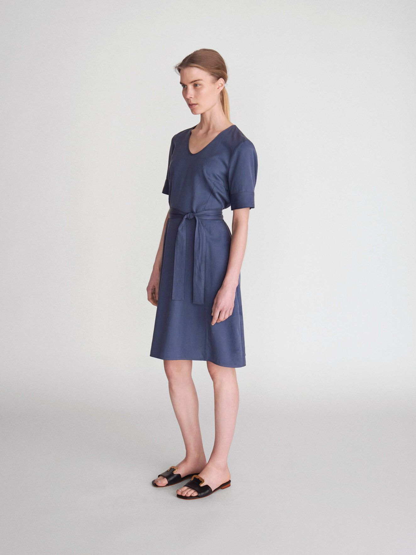 Tanella Dress in Metal Blue from Tiger of Sweden