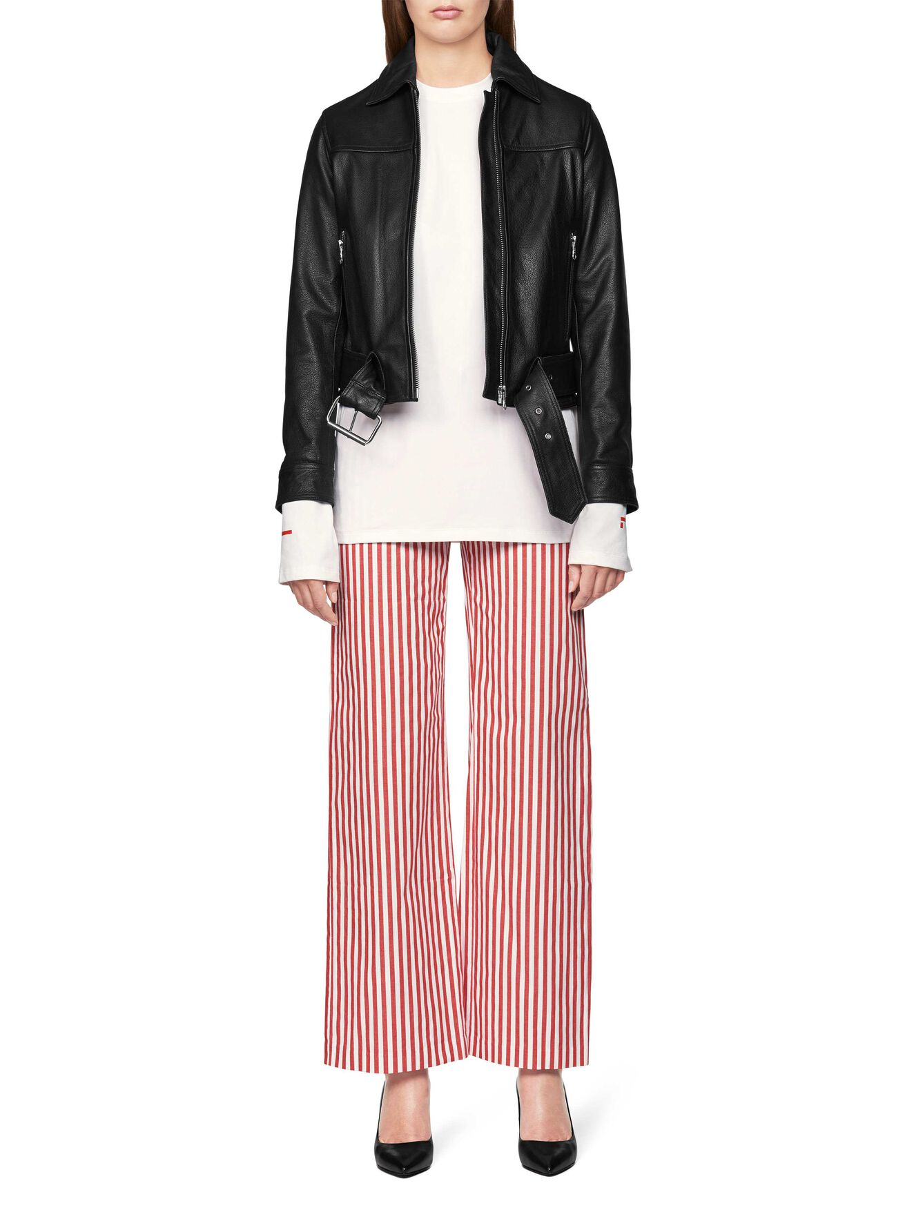 Scrilla Trousers in Valiant Poppy from Tiger of Sweden