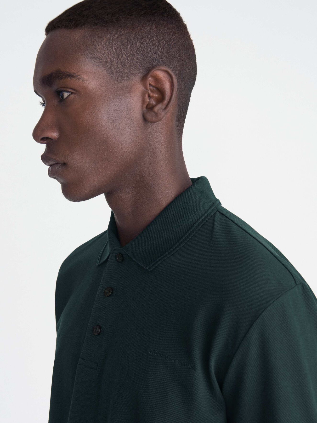 Darios Shirt in Scarab Green from Tiger of Sweden