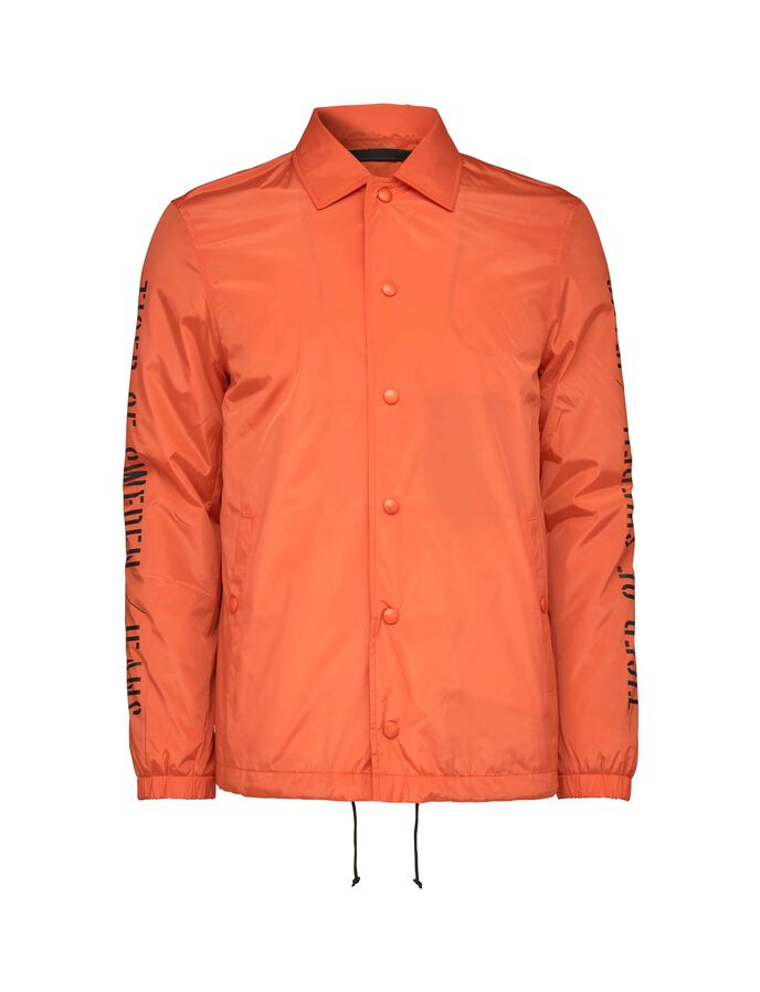 BENCH JACKET in Firecracker from Tiger of Sweden
