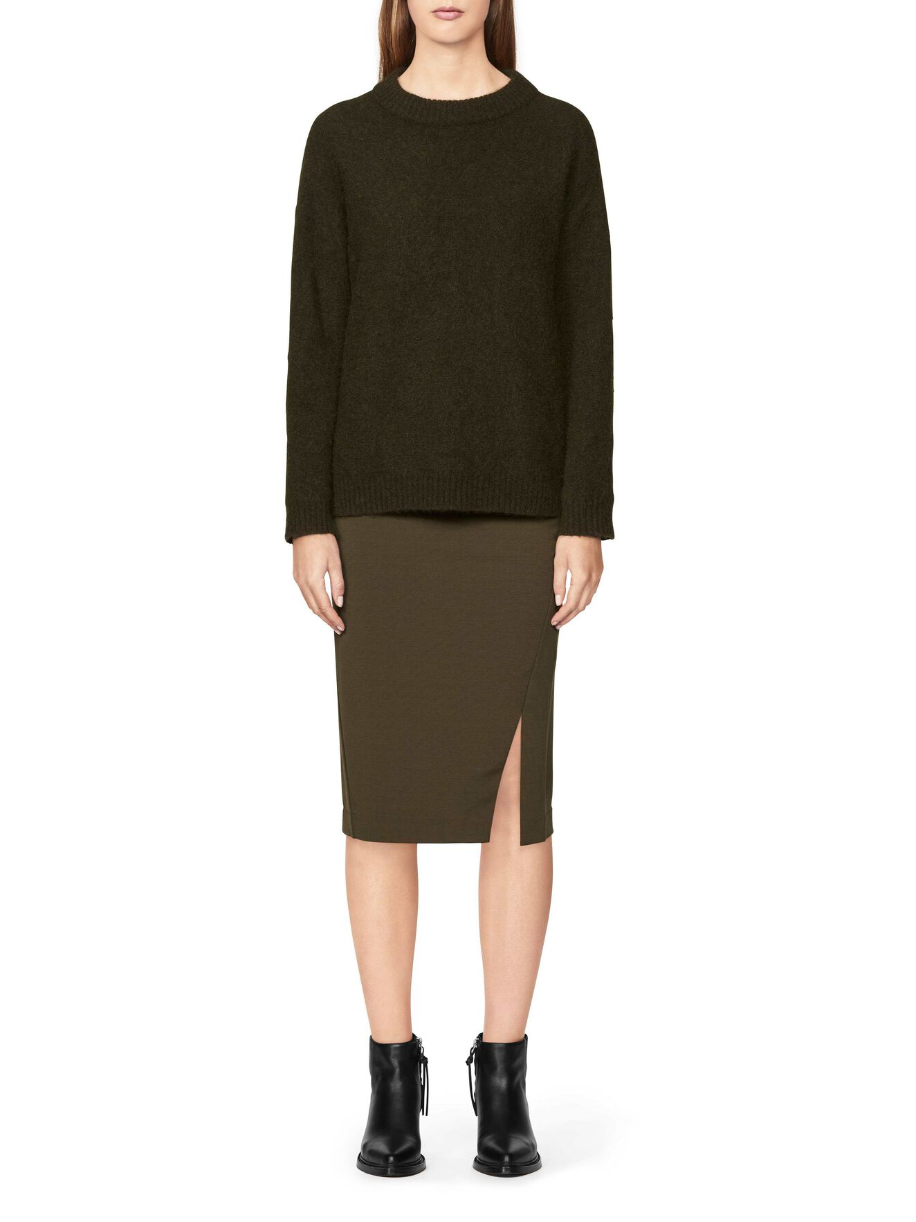 MITIS SKIRT in Utility Green from Tiger of Sweden