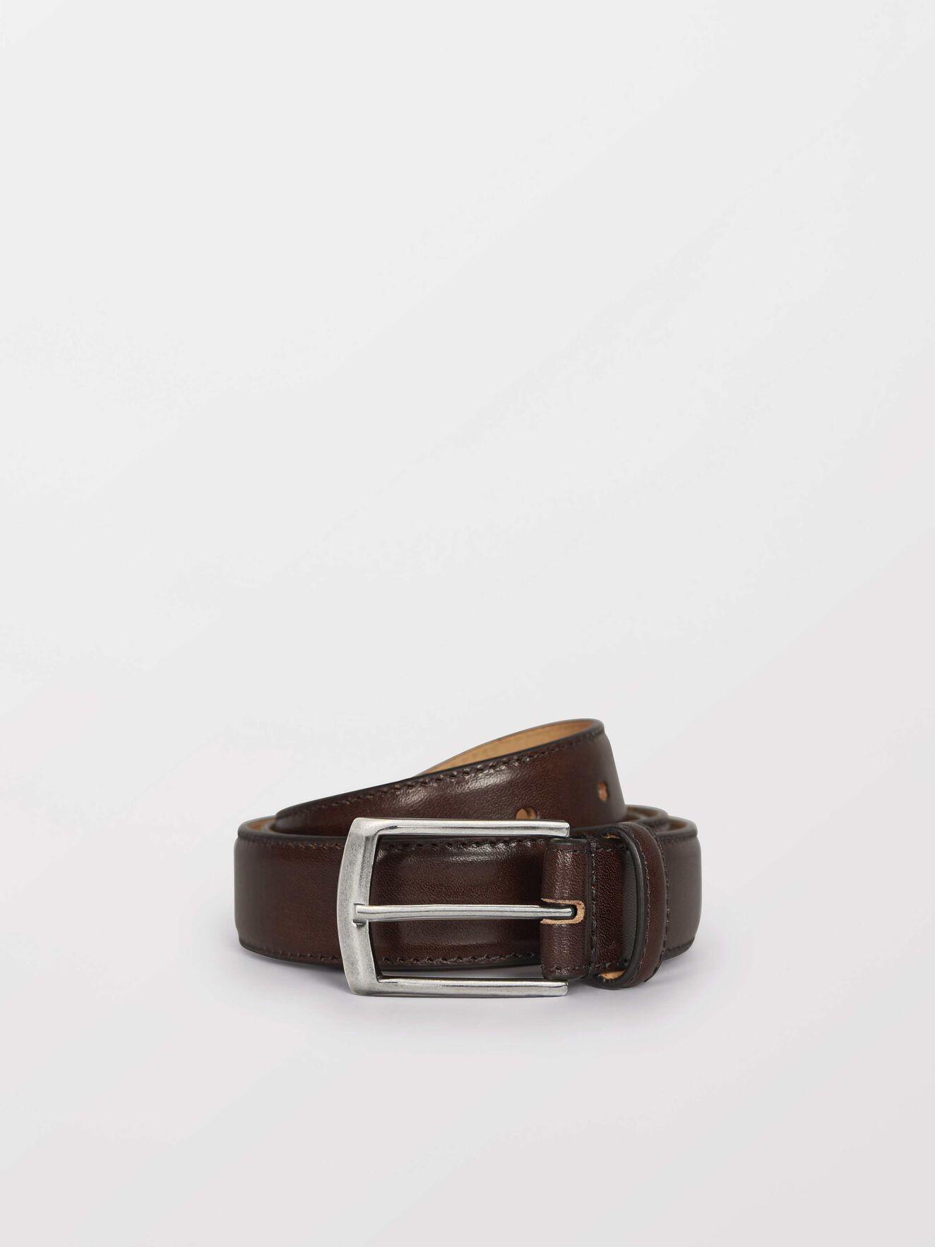 Bannir Belt in Dark Brown from Tiger of Sweden