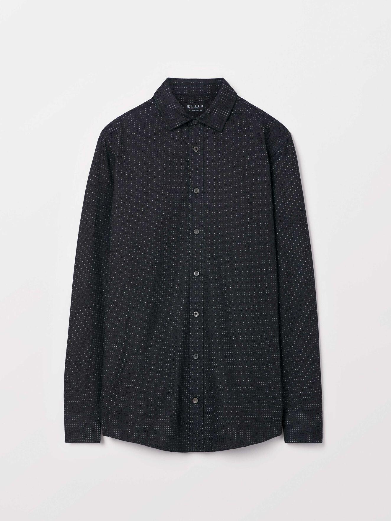 Fridolf Shirt in Black from Tiger of Sweden