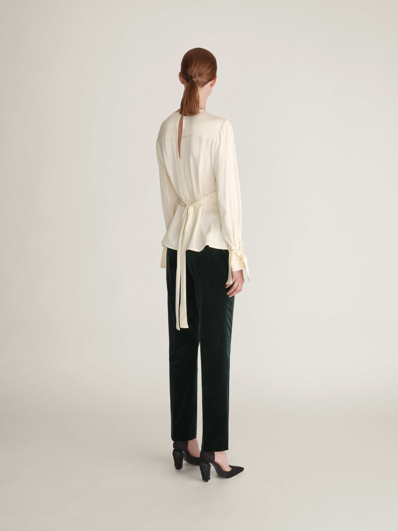Simmone Top in Divine White from Tiger of Sweden
