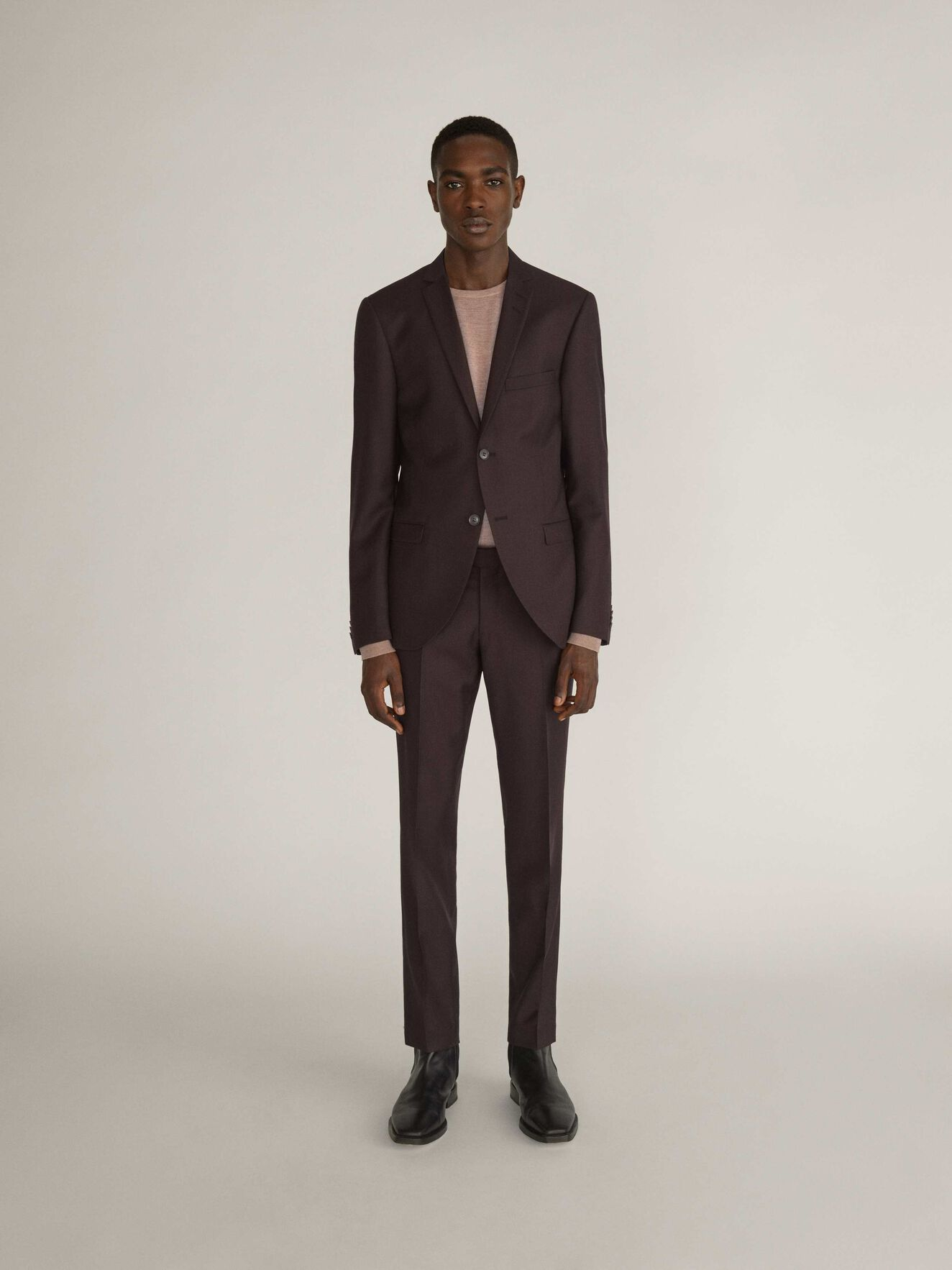 S.Jile Suit in Noon Plum from Tiger of Sweden