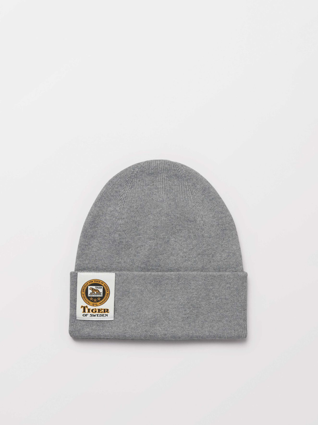 Crail Beanie in Grey melange from Tiger of Sweden