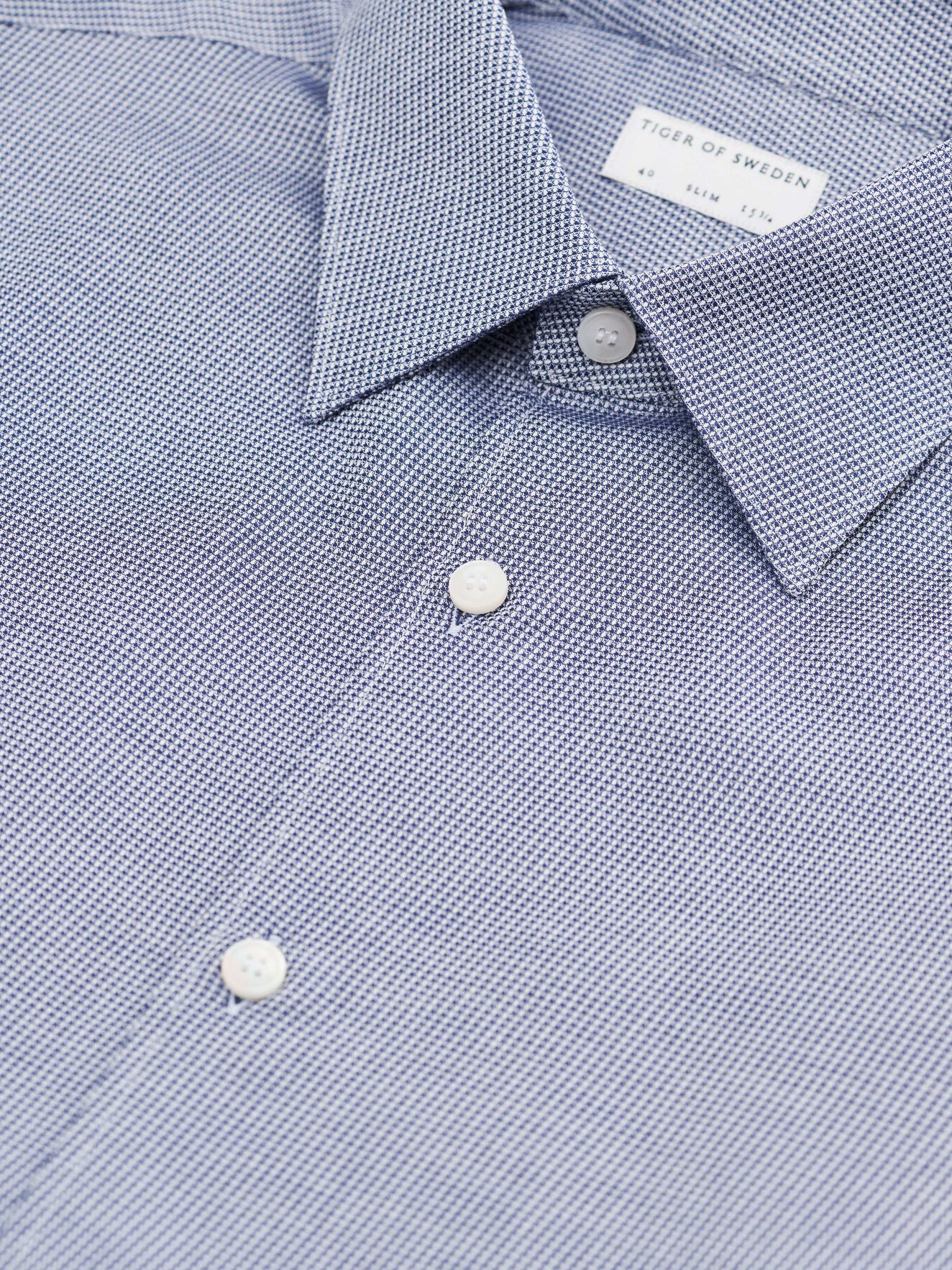 Farrell Shirt in Royal Blue from Tiger of Sweden