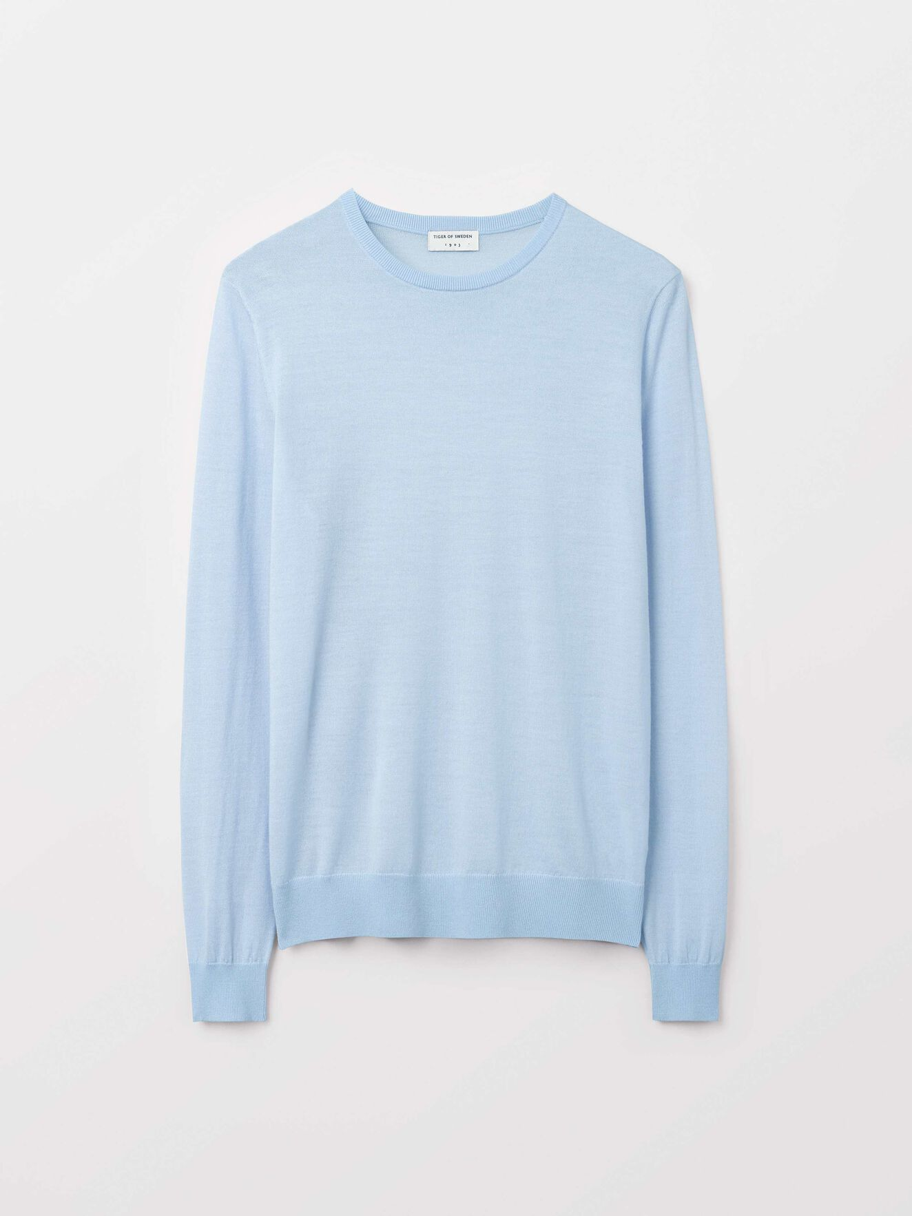 Nichols Pullover in Airy Blue from Tiger of Sweden