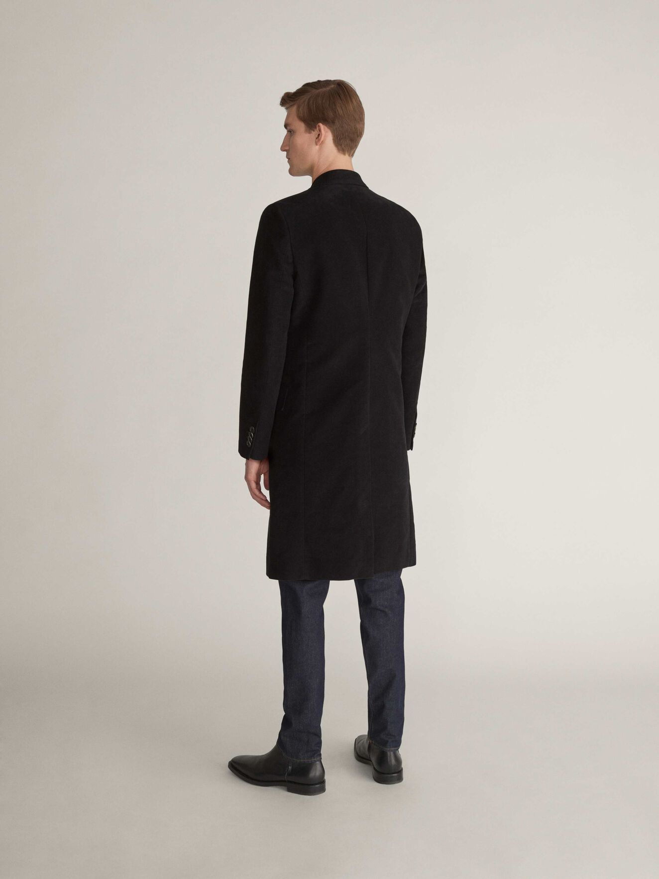 Coltron Coat in Black from Tiger of Sweden