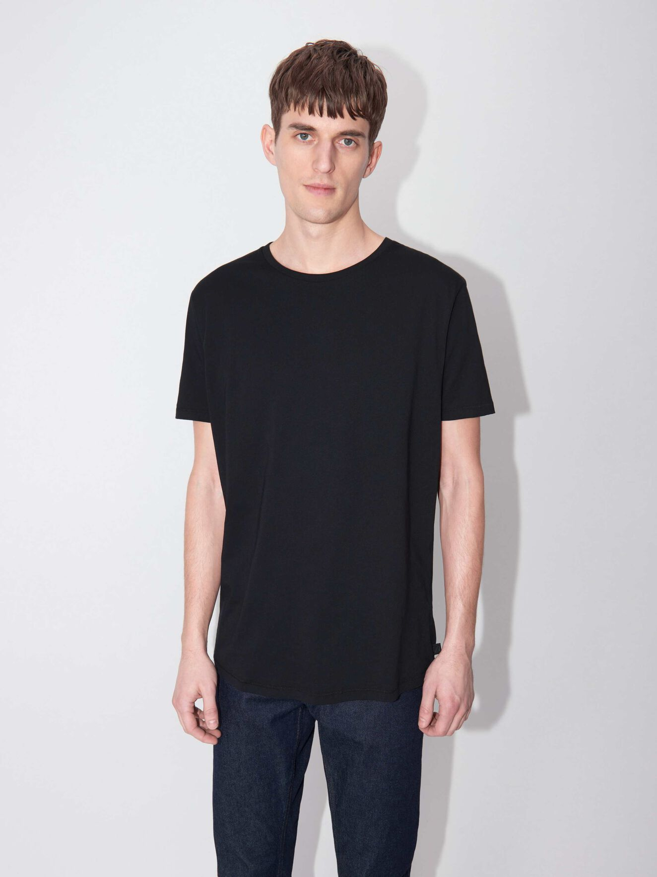 Corey Kurzarm-T-Shirt in Black from Tiger of Sweden