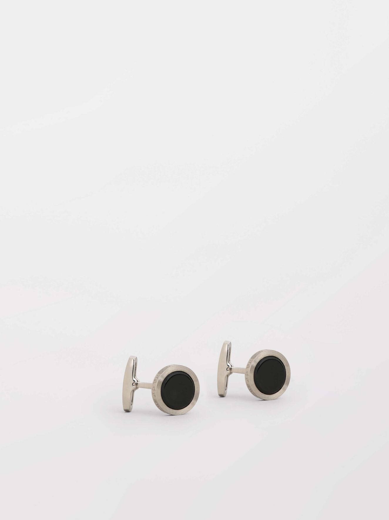 Kollett 2  Cufflinks in Black from Tiger of Sweden