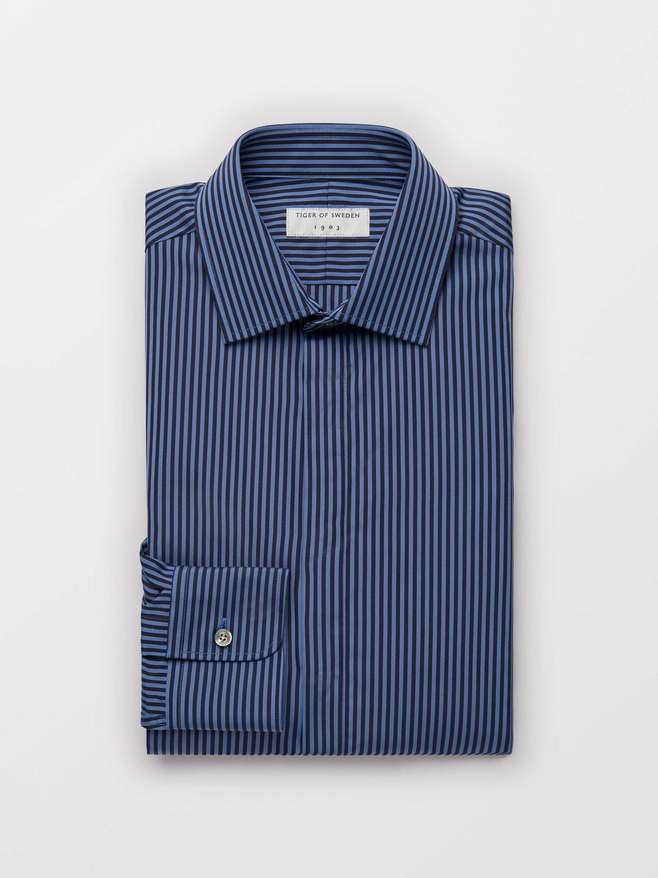 Farris Shirt in Light blue from Tiger of Sweden