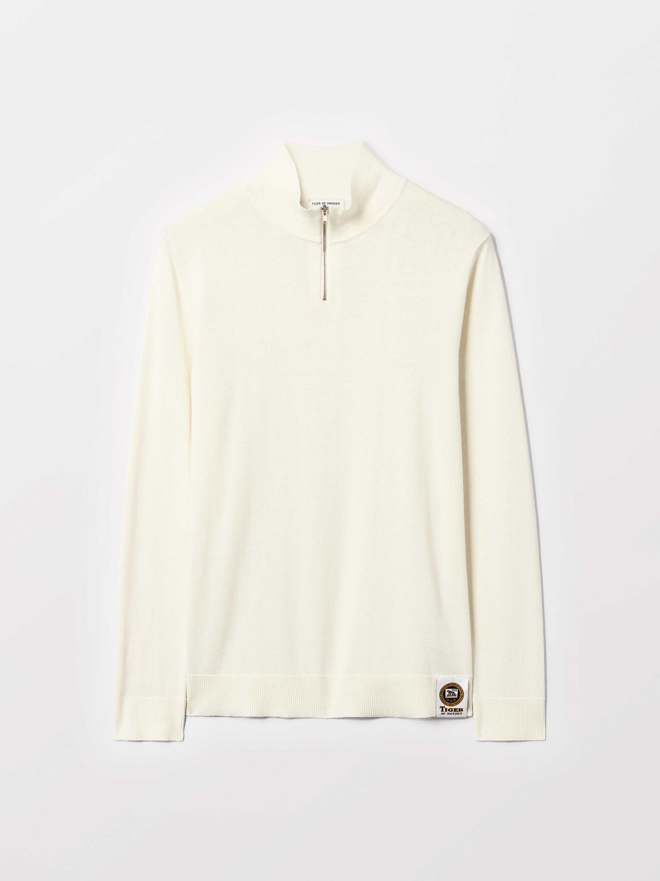 Nemus Pullover in Gardenia from Tiger of Sweden