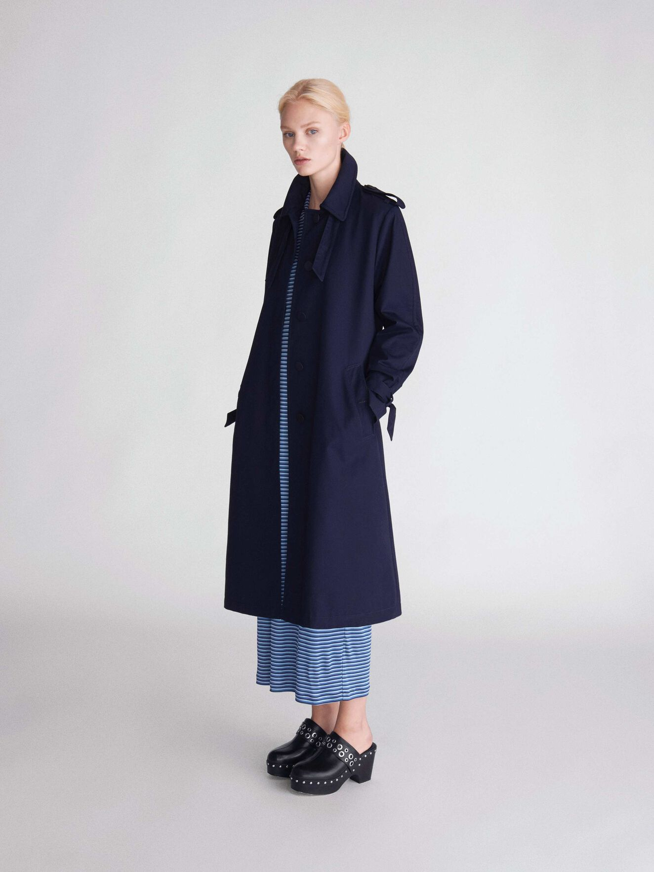 Torii Coat in Blue from Tiger of Sweden