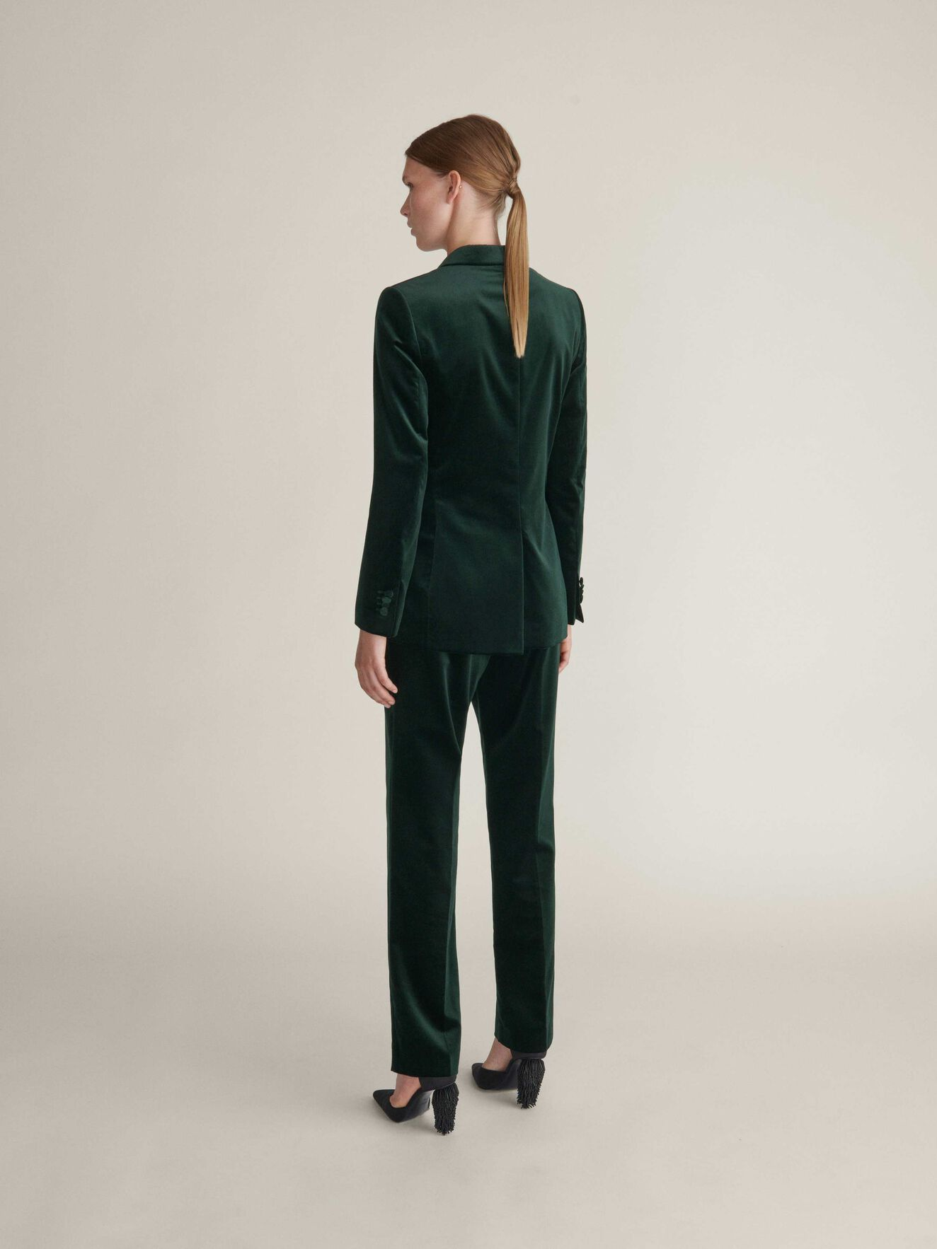 Seanessa 2 Trousers in Dark Forest from Tiger of Sweden