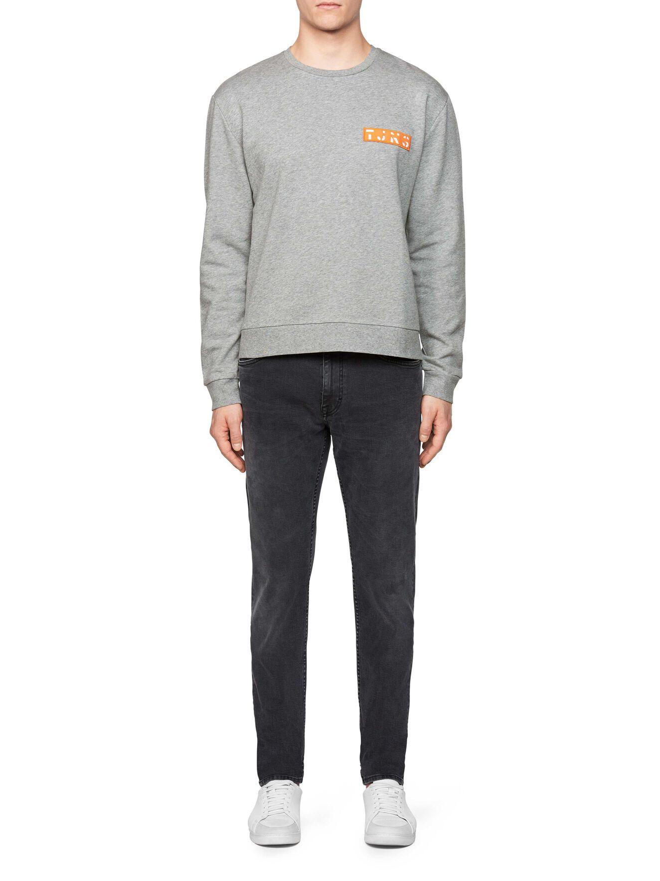 Buzz Pr Sweatshirt in Grey melange from Tiger of Sweden