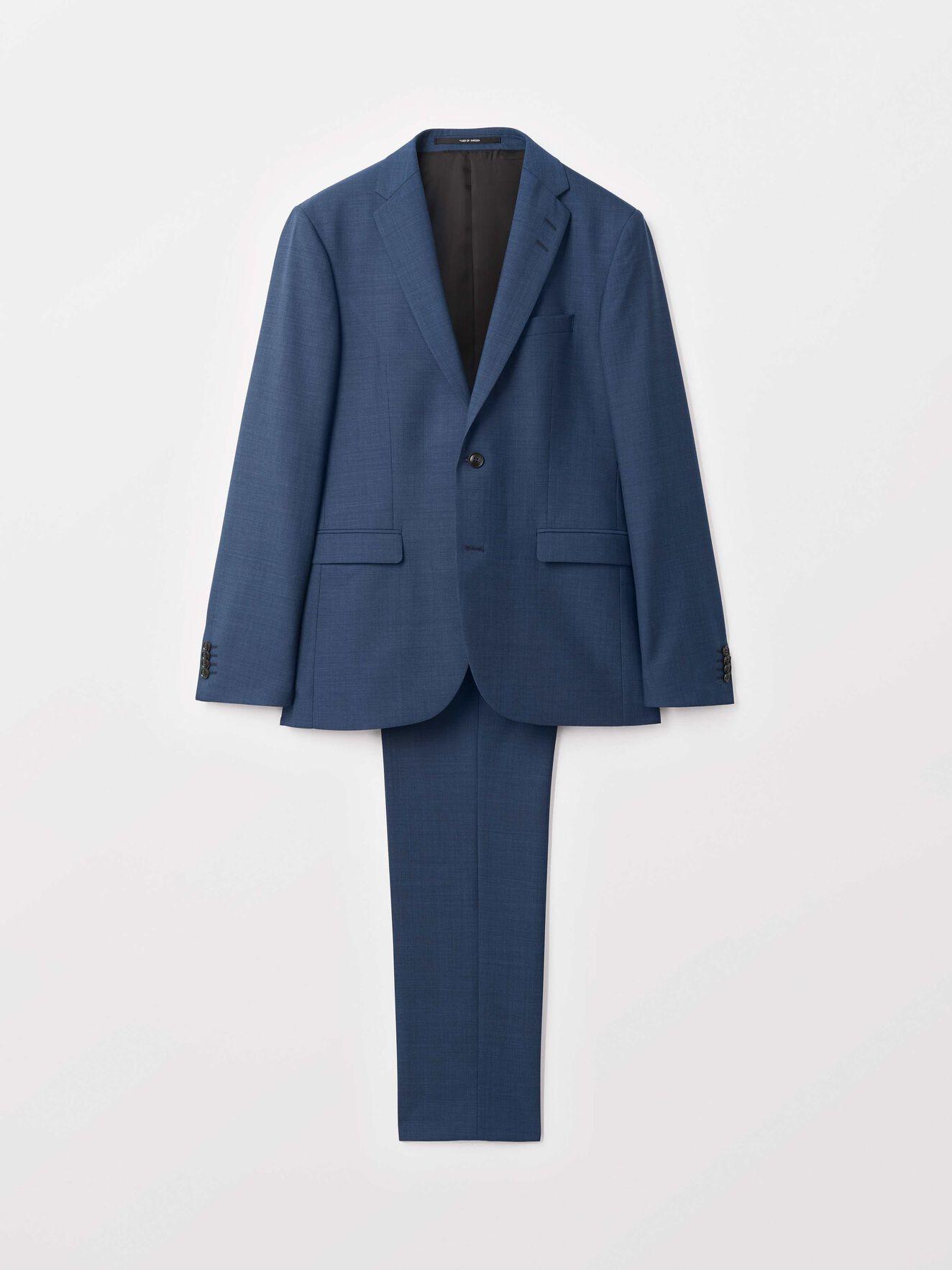 Henrie Suit in Mystic Ocean from Tiger of Sweden